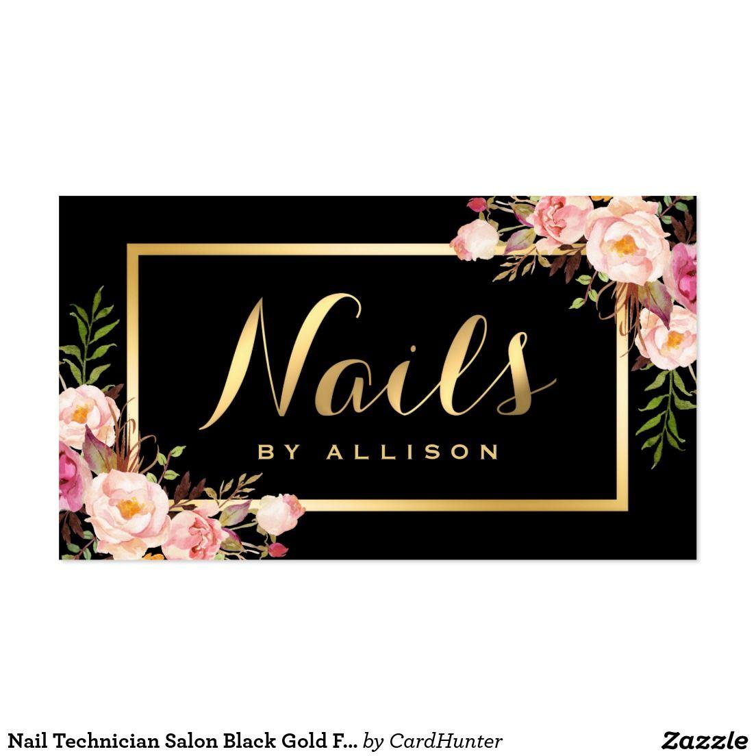 Create your own Profile Card | Zazzle.com | Salon business ...