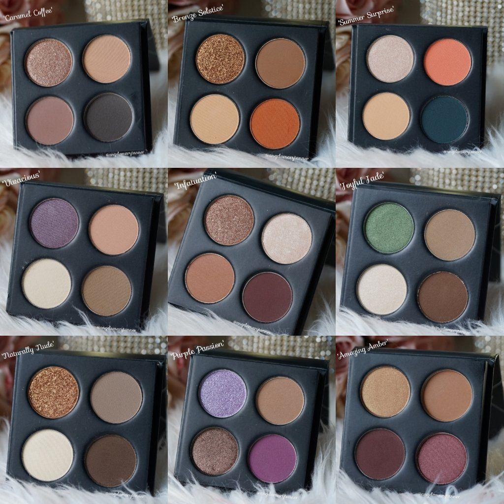 New Makeup Geek x Target Quads Info and Swatches Makeup