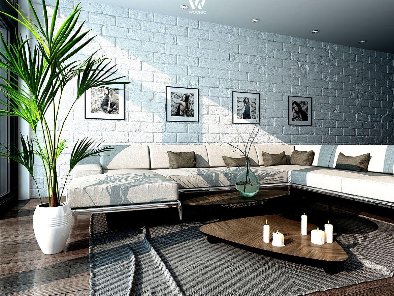 Persönliche Fotos an der Wand geben dem Wohnzimmer seinen Charakter ...