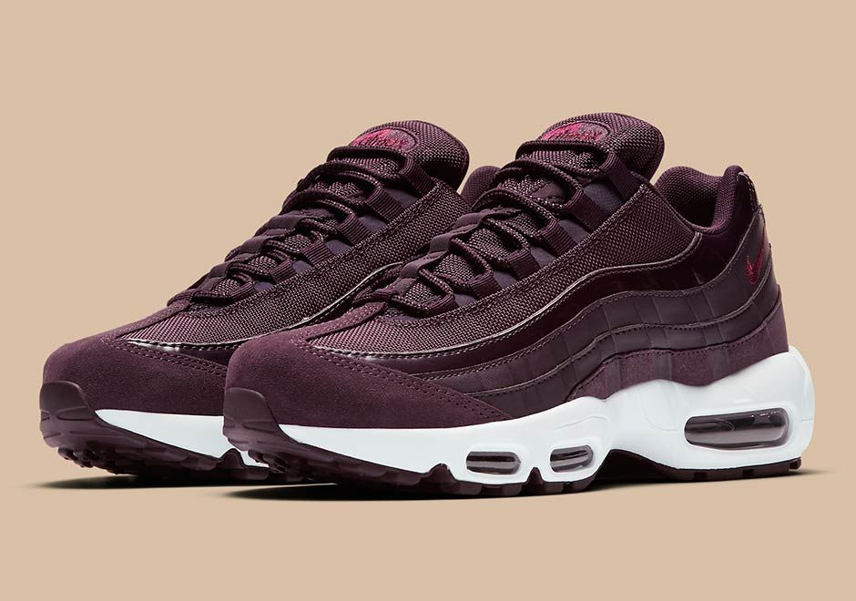 2a4fc81270 Official Images Of The Nike Air Max 95 Bordeaux | Women Nike ...