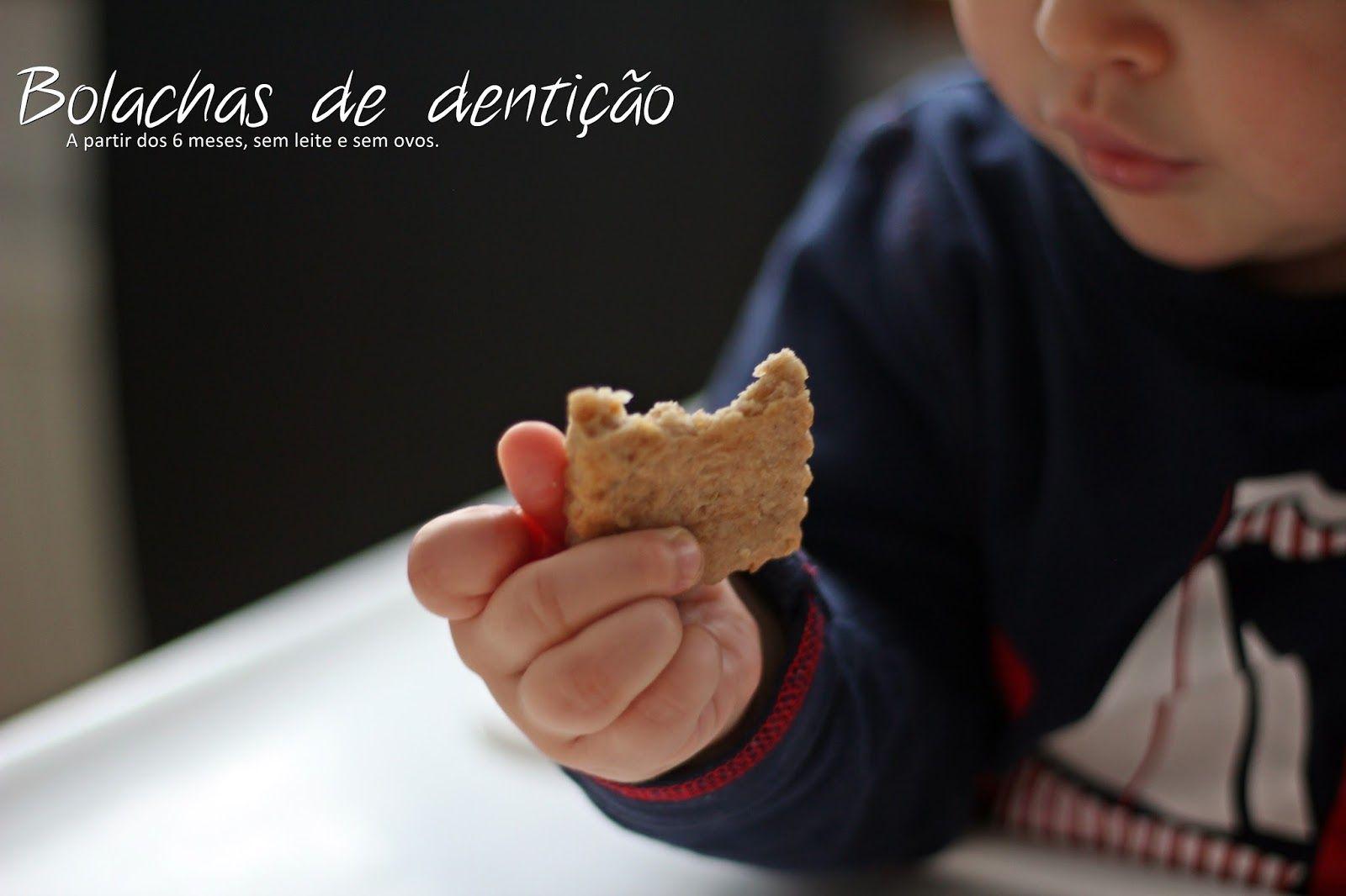 Bolachas de dentição saudáveis - a partir dos 6 meses