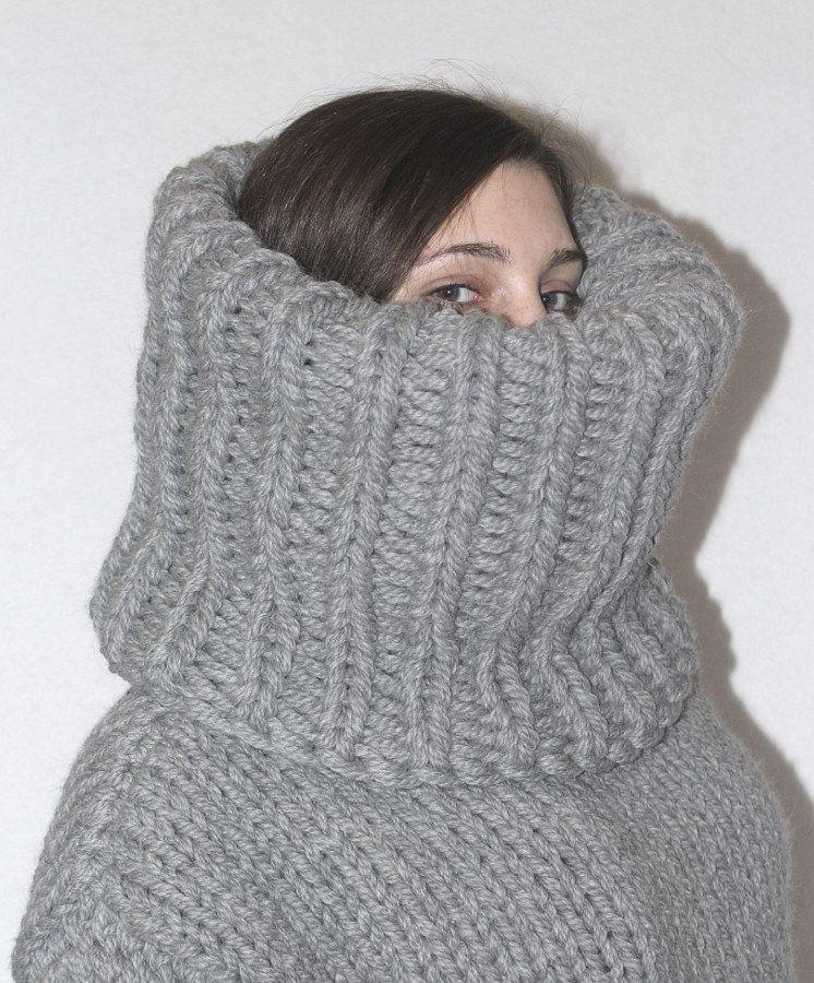 Original Kauf ankommen Schlussverkauf Chunky Turtleneck Alpaca Wool pur wool thick knit turtleneck ...