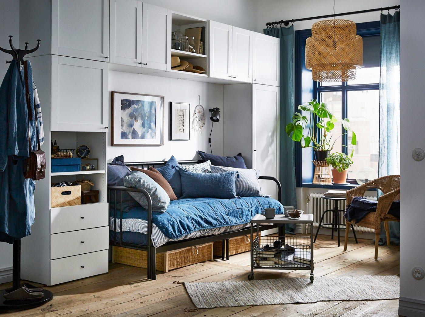 Wenig Platz, viele Möglichkeiten für das Schlafzimmer ...