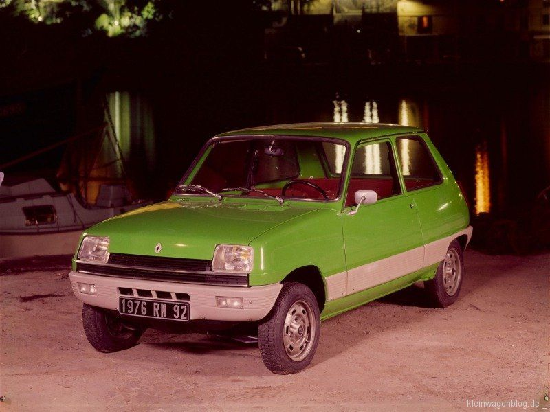 Renault R5 It Was Called Le Car In The Us Cars Pinterest Cars