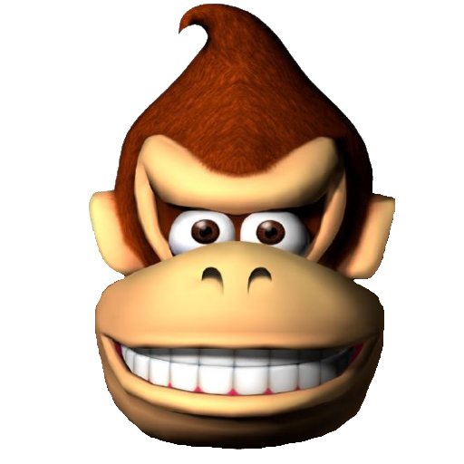 Donkey Kong Face (Team Fortress 2 > Sprays > Game