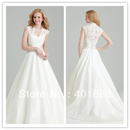 Dress Shrit Quality Gown Bride Directly From China Display Suppliers Cap Sleeve Deep V Neckline Ball Lace Top Taffeta Wedding