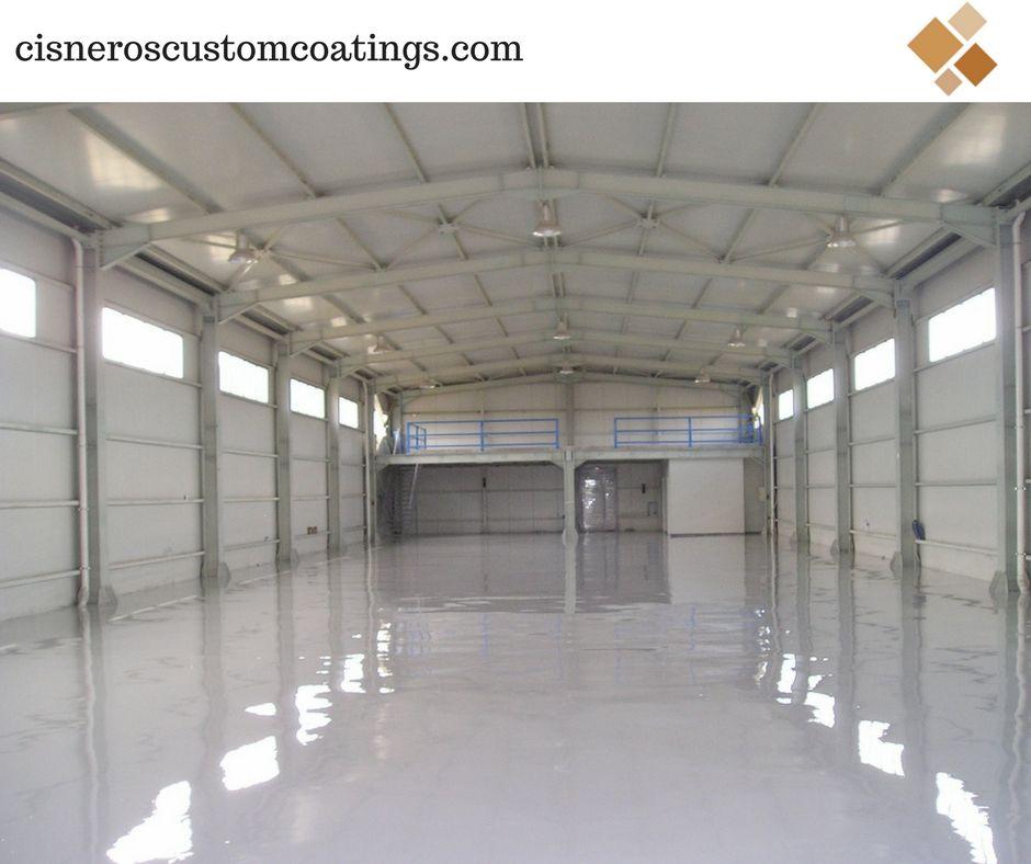 Unique Look For Your Floor Epoxy Floor Coatings Are Quick To
