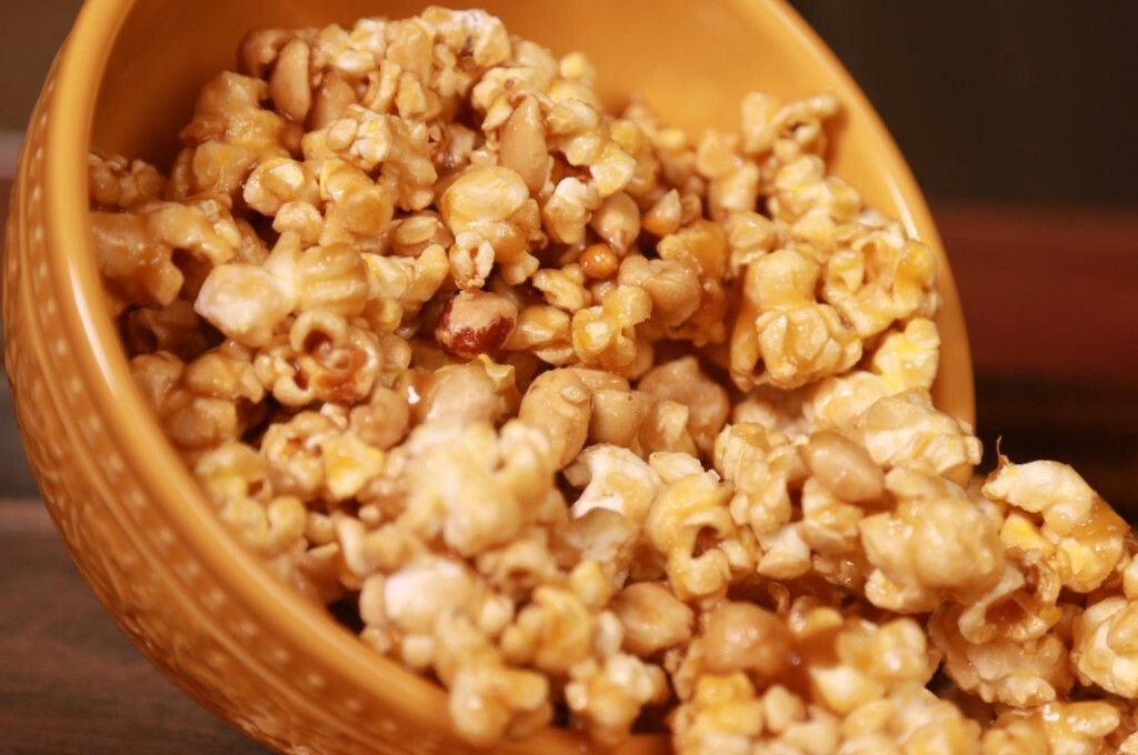 Caramel corn caramel corn recipes appetizers and snacks