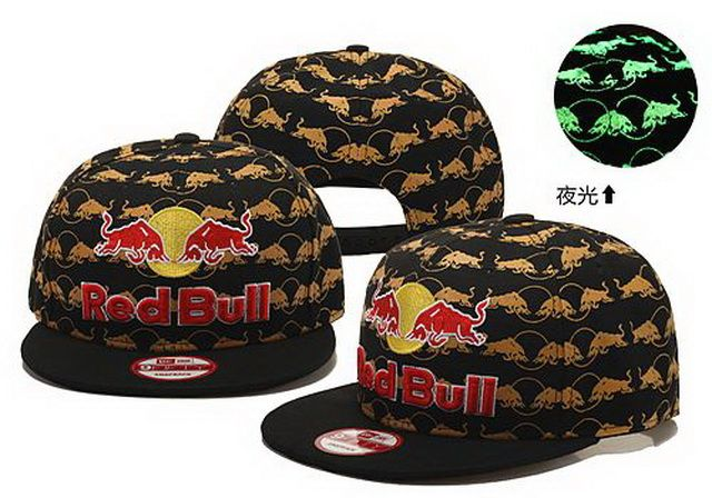 Red Bull Snapback Fluorescence Hats 836 Red Bull Snapbacks