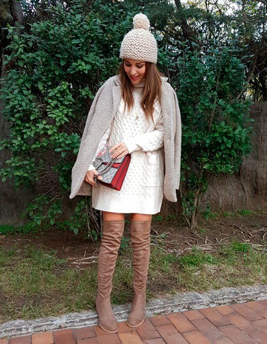 Paula echevarria vestido de punto