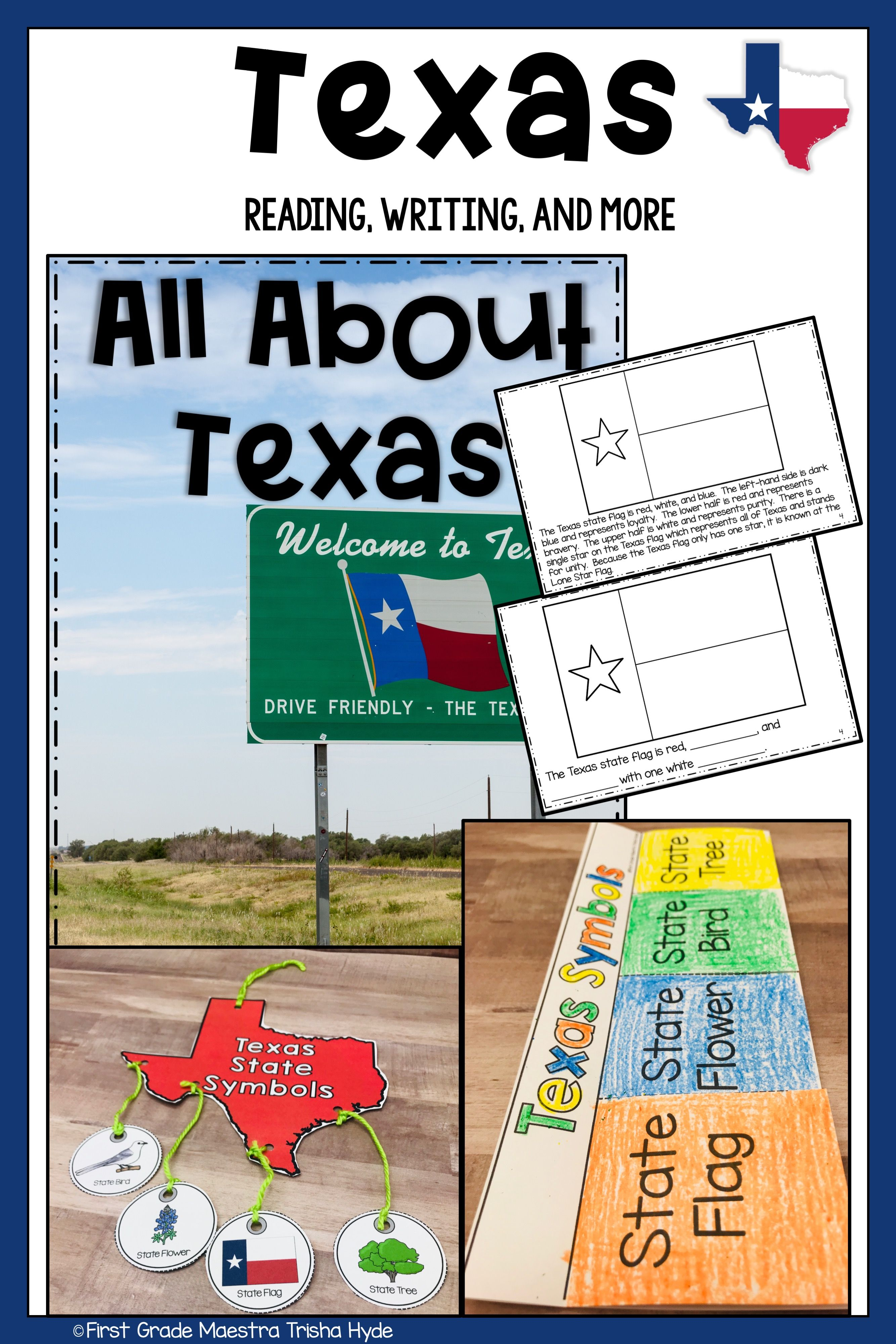 Texas State Symbols With Images