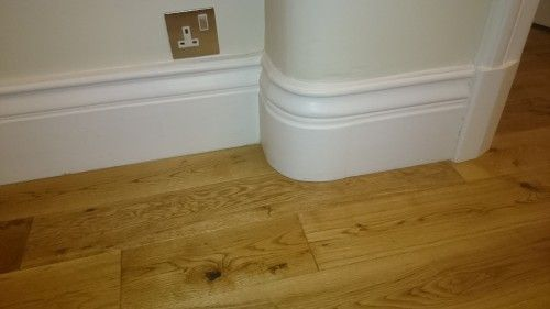 Can Wood Floors Be Fitted Under Skirting Boards Without