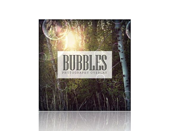 Bubbles Photography Overlay  png File Digital by LanternLaneGifts