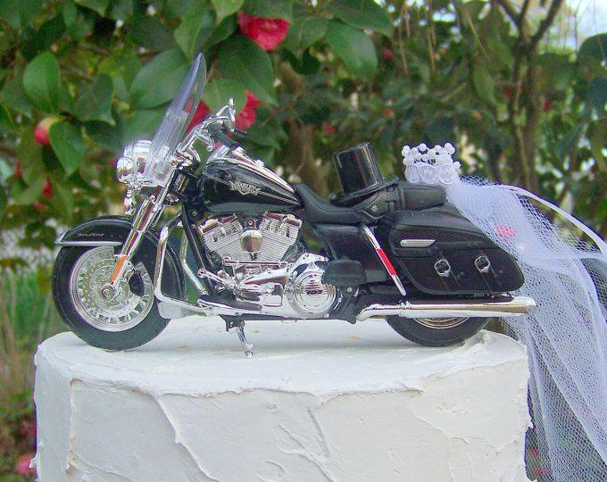 Motorcycle Cake Topper Harley Davidson 2015 Street 750 Motorcycle