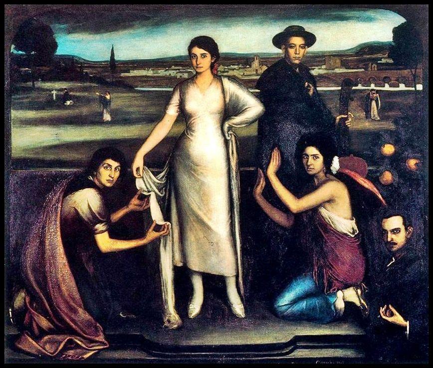 Nuestra Señora de Andalucía - Pintura de Julio Romero de Torres - 1907