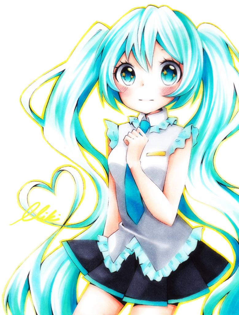 Hatsune Miku Kawaii ♥ Kawaii Anime Pinterest Miku