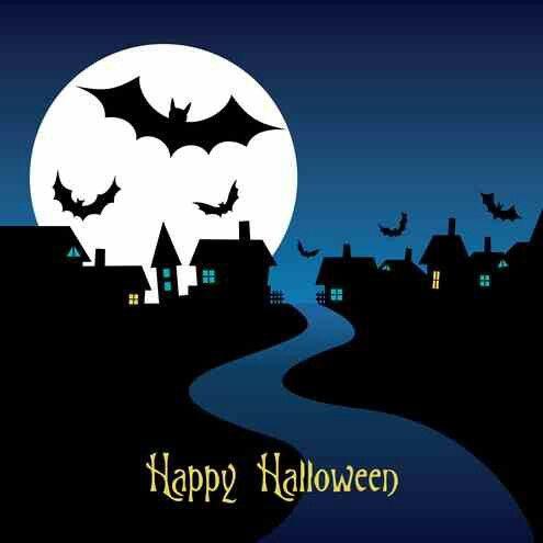 Happy time Halloween Pinterest - halloween template
