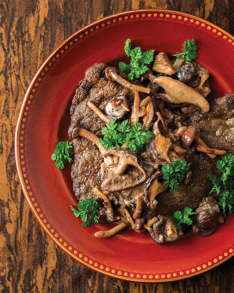 Jaegerschnitzel   Recipe   Pinterest   Venison, Mushroom sauce and ...