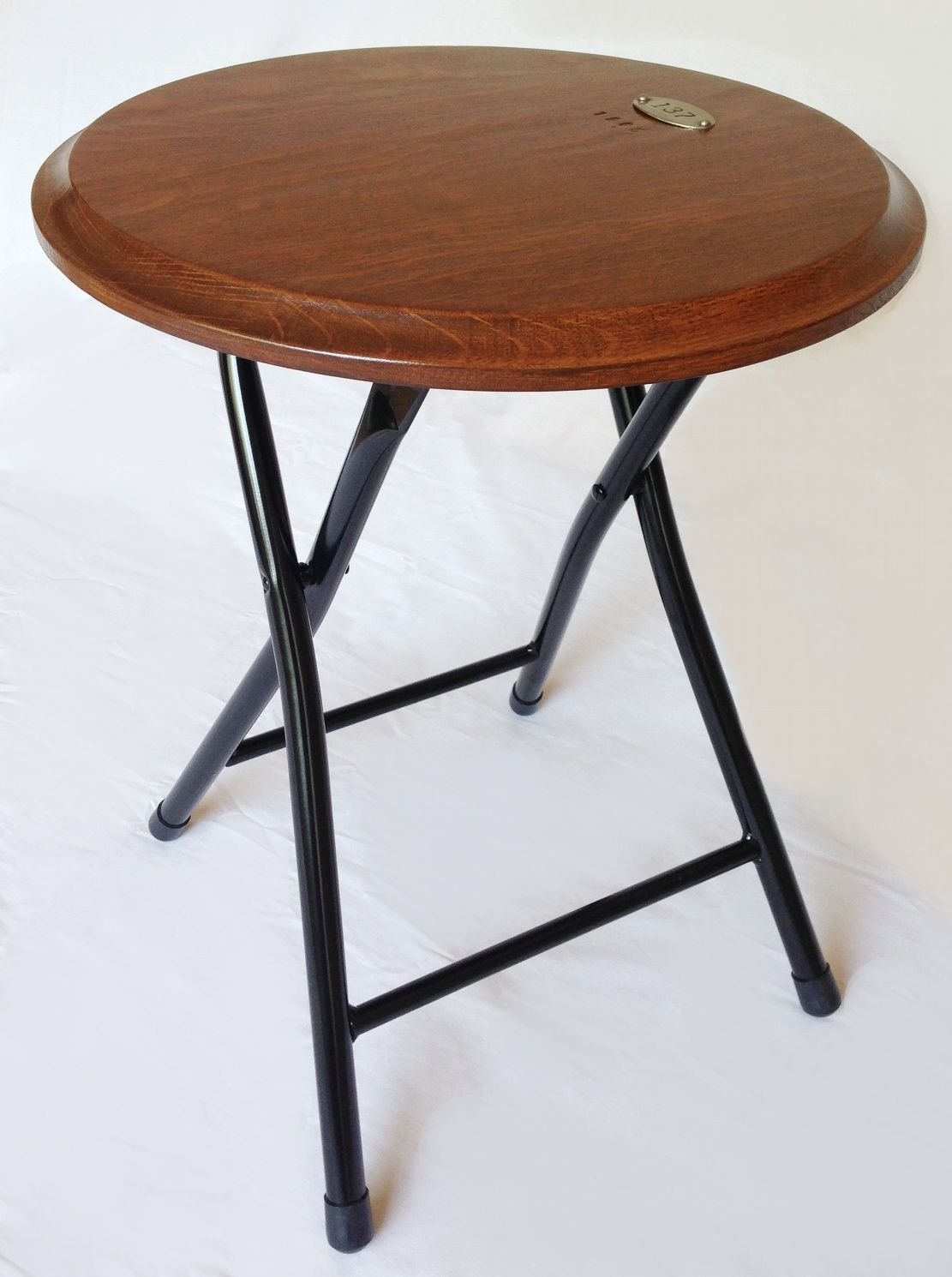 Ace, collapsible folding stool or end, side table