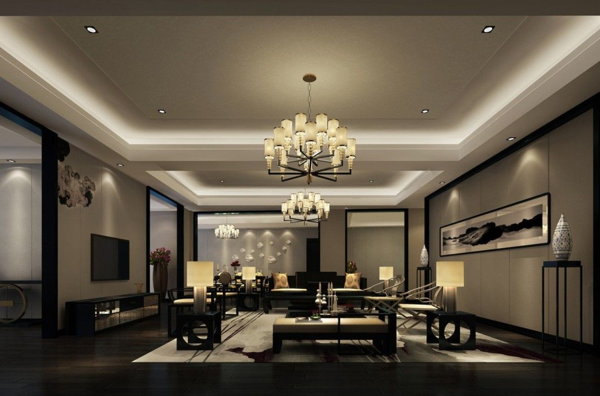 Living Room Lighting Design And Ideas | House Remodeling