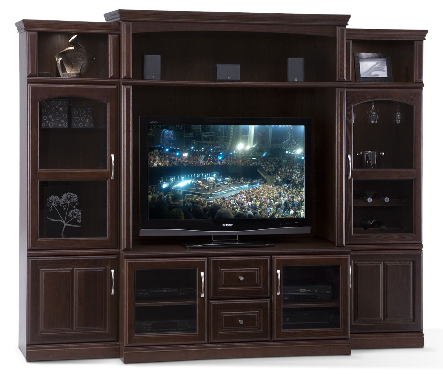 Carlton Entertainment Wall
