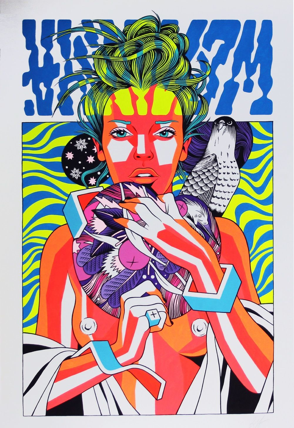 THIS IS NOT A POSTER BY BICICLETA SEM FREIO @ FIFTY24SF GALLERY - 2015