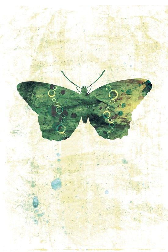Jackie  Butterflies and Moths Series  12x18 by papermoth on Etsy, $35.00
