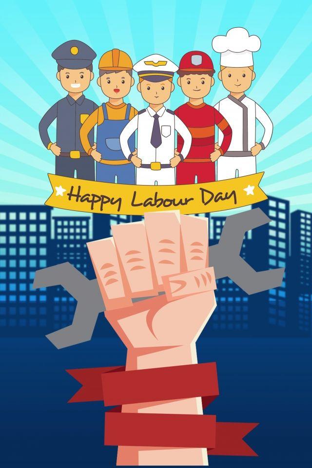 أيار مايو عيد العمال بناء الكرتون الإعلان 1 مايو يوم العمل بناء رسوم Cartoon Background Poster Drawing Labour Day