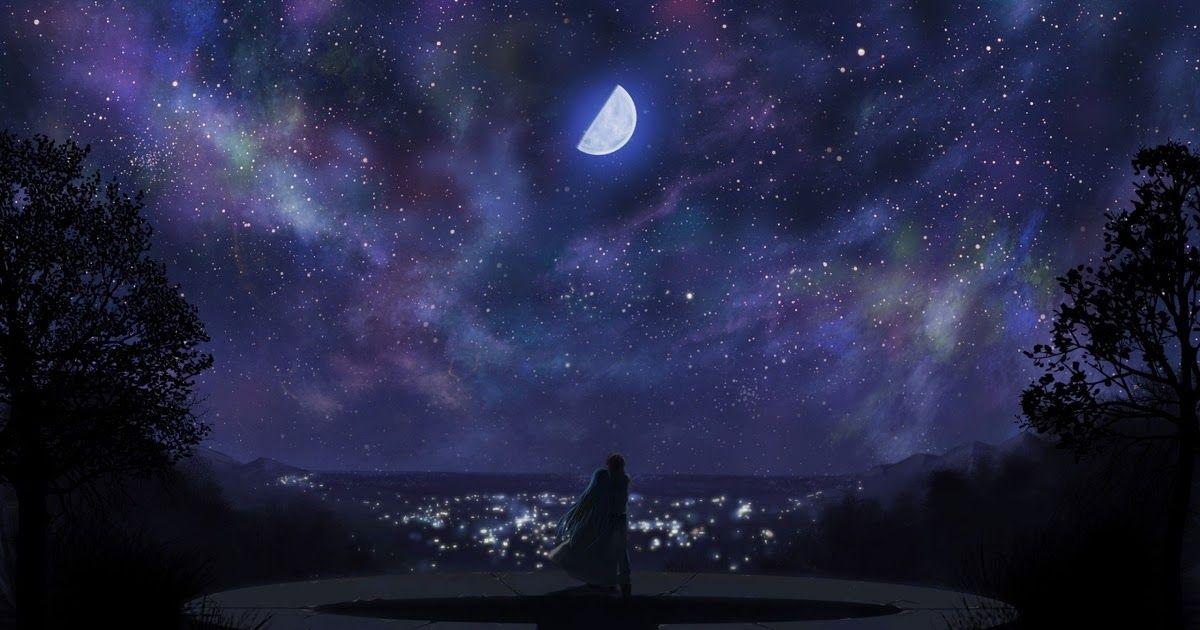32 Night Anime Wallpaper Anime Night Scenery Wallpapers Top Free Anime Night Download Anime Fate Stay Night Scenery Scenery Wallpaper Night Sky Wallpaper