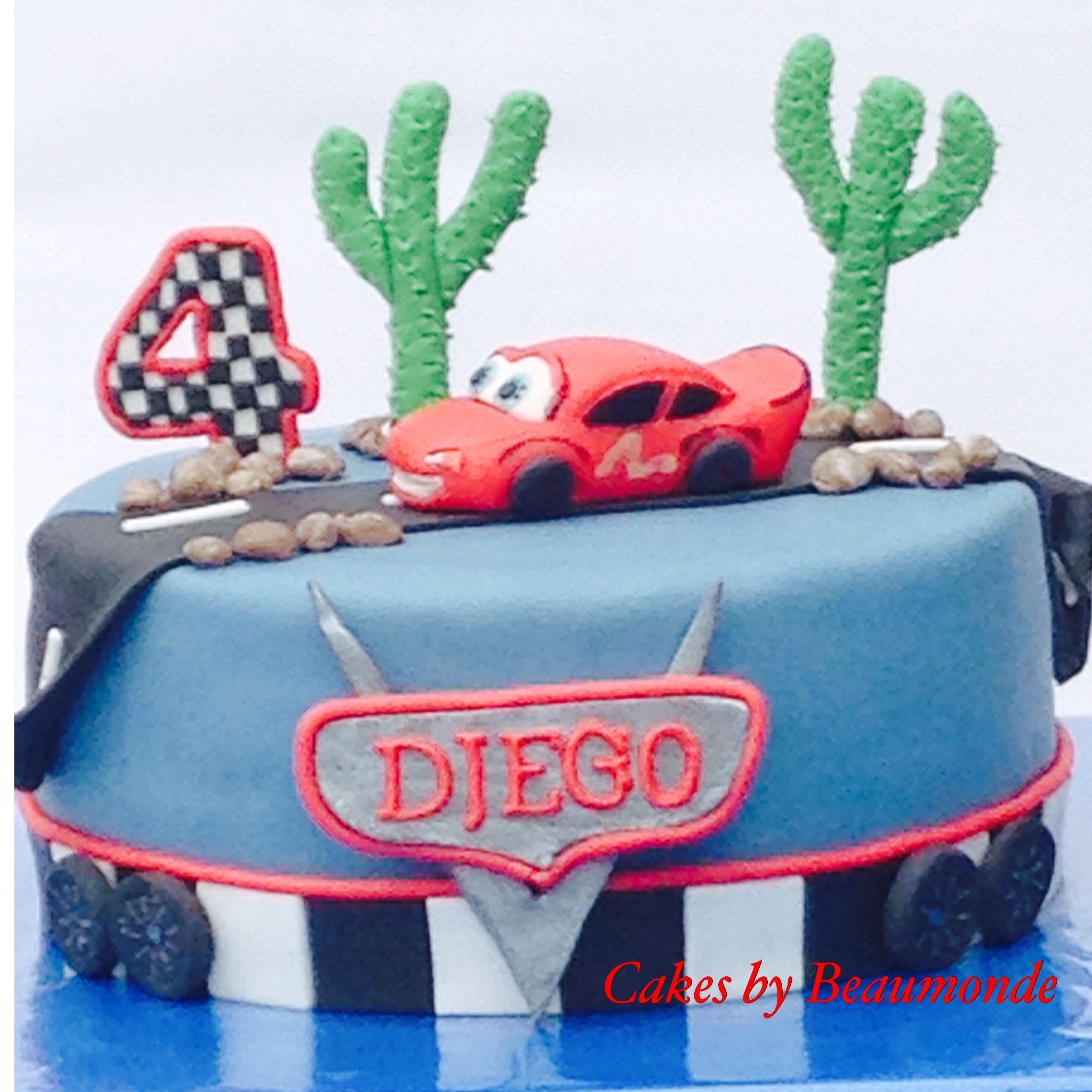 Cars taart / cake