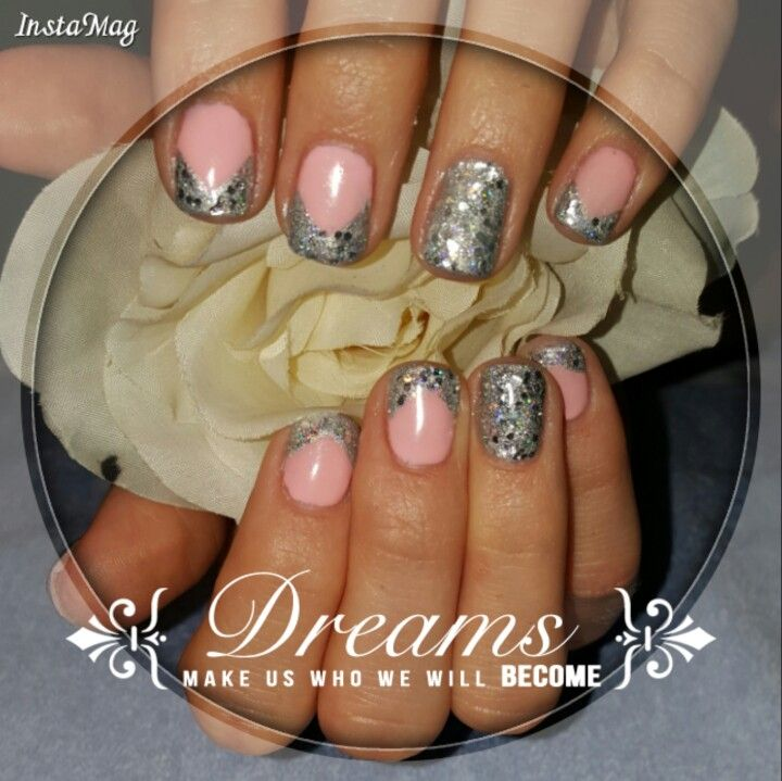 Princess French Nails | Kasey\'s Hand and Foot Care | Pinterest ...