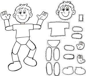 Dibujos Para Colorear Silueta Del Cuerpo Humano Pelautscom El
