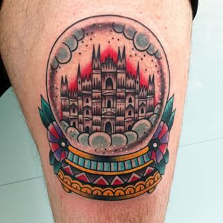 And This One Of Milan Tattoos Tattoo Milano City Tattoo