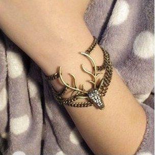 73a228abe918 Encuentra Pulsera Brazalete Vintage Rhinestone Deer Head Bronze Vjr - Joyas  y Relojes en Mercado Libre México. Descubre la mejor forma de comprar  online.