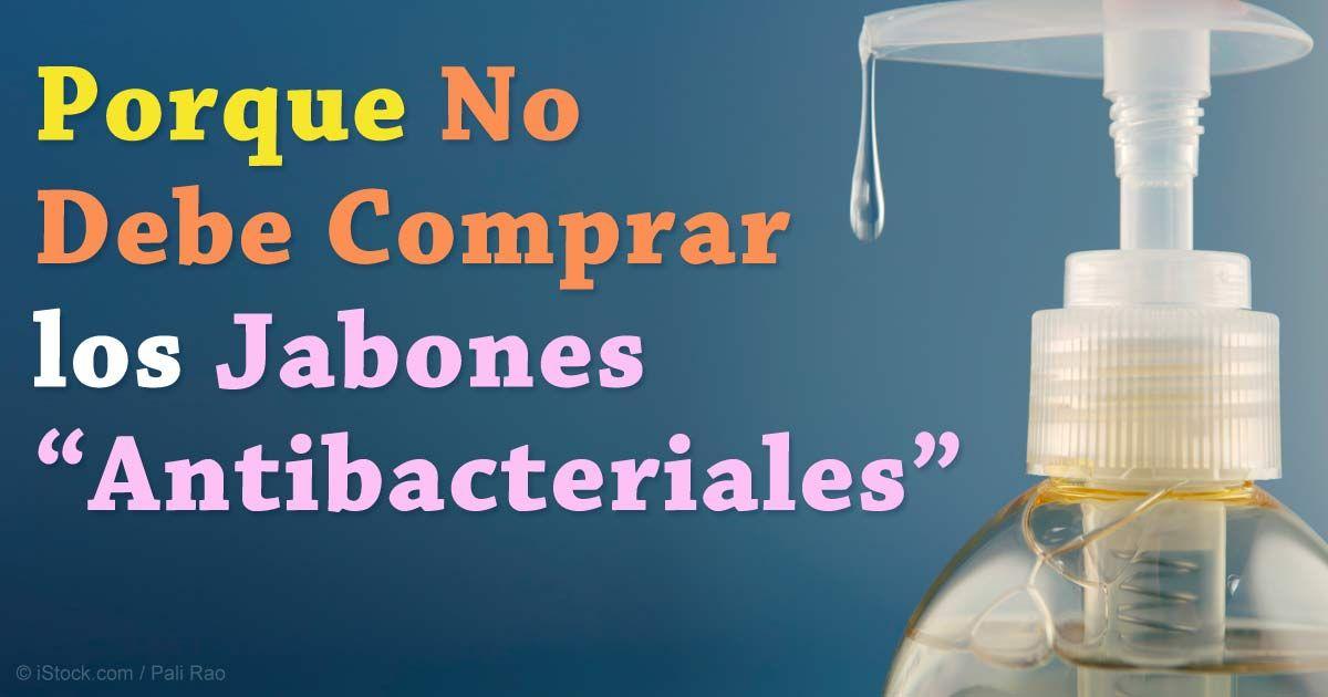 El jabón antibacterial que contiene triclosan no fue más efectivo que el jabón regular para reducir la contaminación de bacterias. http://articulos.mercola.com/sitios/articulos/archivo/2015/10/01/jabon-antibacterial.aspx