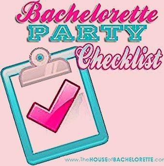Photo of FREE Bachelorette Party Checklist | The House of Bachelorette