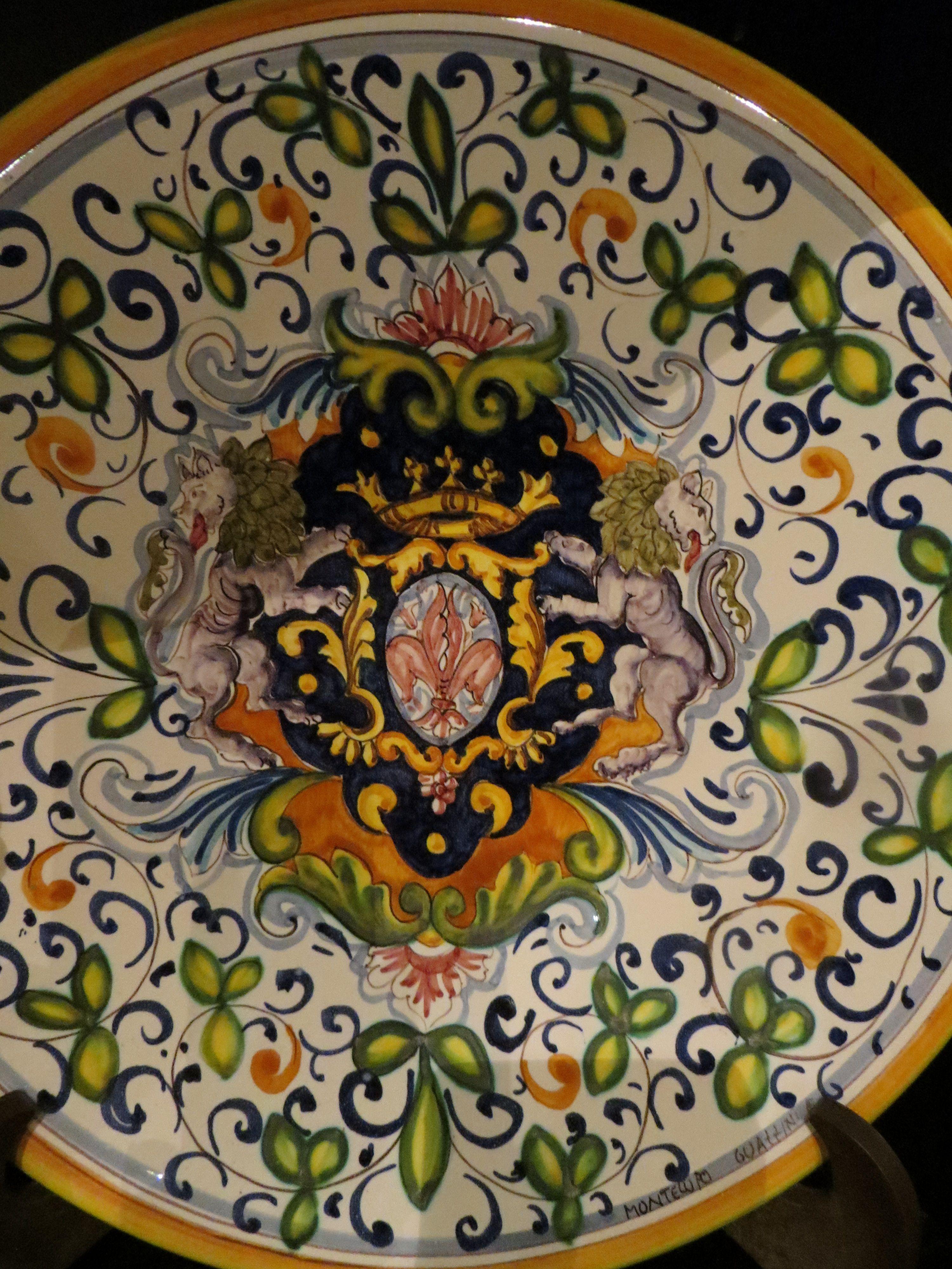 ceramica montelupo italia