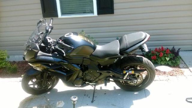 2013 Kawasaki Ninja 650r Standard Black 3450 Miles For
