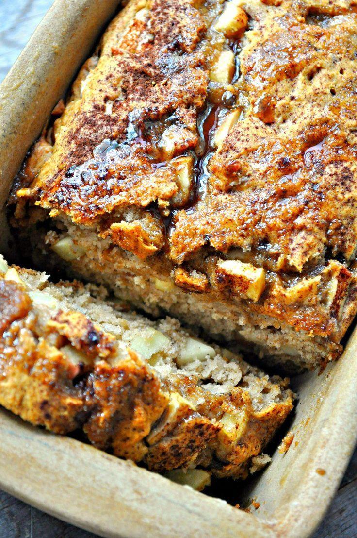 Vegan Apple Pie Bread - Rabbit and Wolves