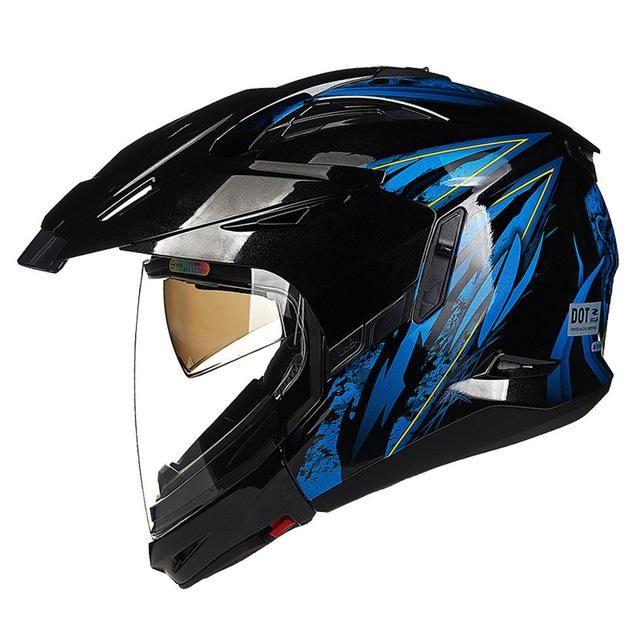 9b2e74b8 Full & Open Face Motorcycle helmet Modular Moto 613B2 Capacetes  Motociclismo Cascos Para Moto Casque Motocross Helmets