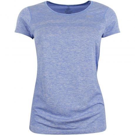 2b04431c93b Køb Nike Dri-Fit Knit T-shirt - Dame i Blå online | clothes | Shirts ...