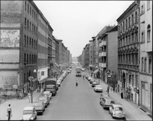 1977 West-Berlin - Kreuzberg, Adalbertstraße (Foto: Karl-Ludwig Lange)