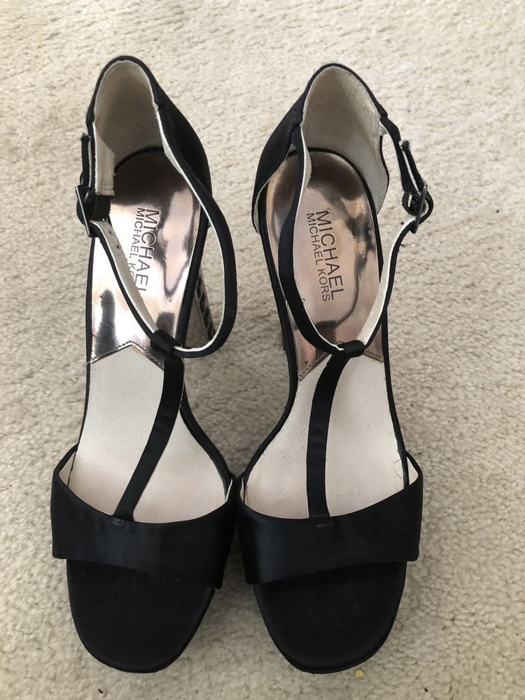 e9c39607b1f Womens Shoes Michael Kors High Heels Size 10 Black  fashion  clothing  shoes   accessories  womensshoes  heels (ebay link)