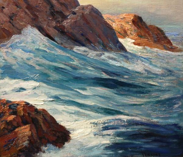 Parker Perkins, Monhegan Cliffs