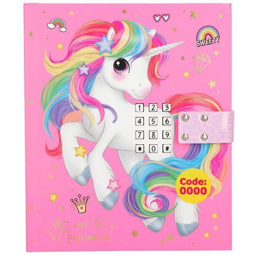 Diario Código Secreto Unicornio Fantasy Model Escuin Toys Cosas De Unicornio Cestas De Regalo Para Niños Jugetes Para Niñas