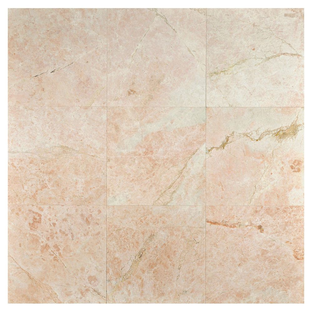 Complete Tile Collection Natural Stone Marble Tile, Soleto Pink ...