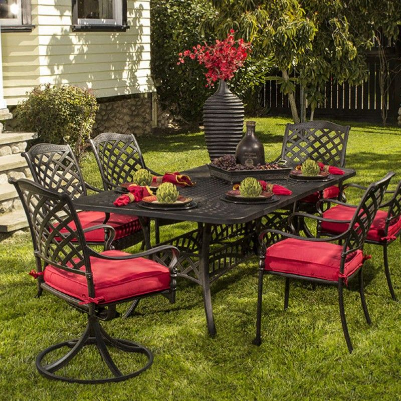Hanamint Berkshire Dining Collection The Great Escape Outdoor