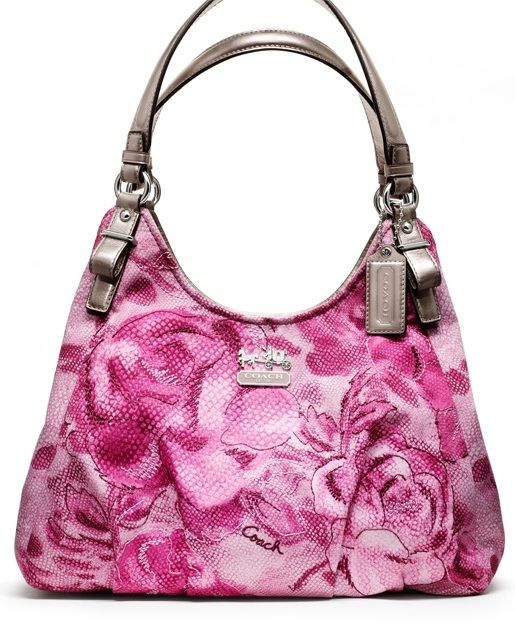 New Floral Coach Bag The Madison Maggie Very Cute My Favorite