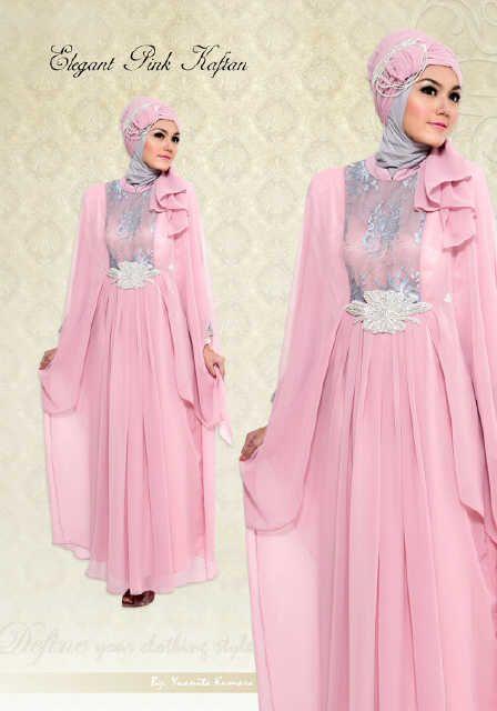 Model Gaun Pesta Muslim Terbaru Trendy 2014 2015 Heejab Style