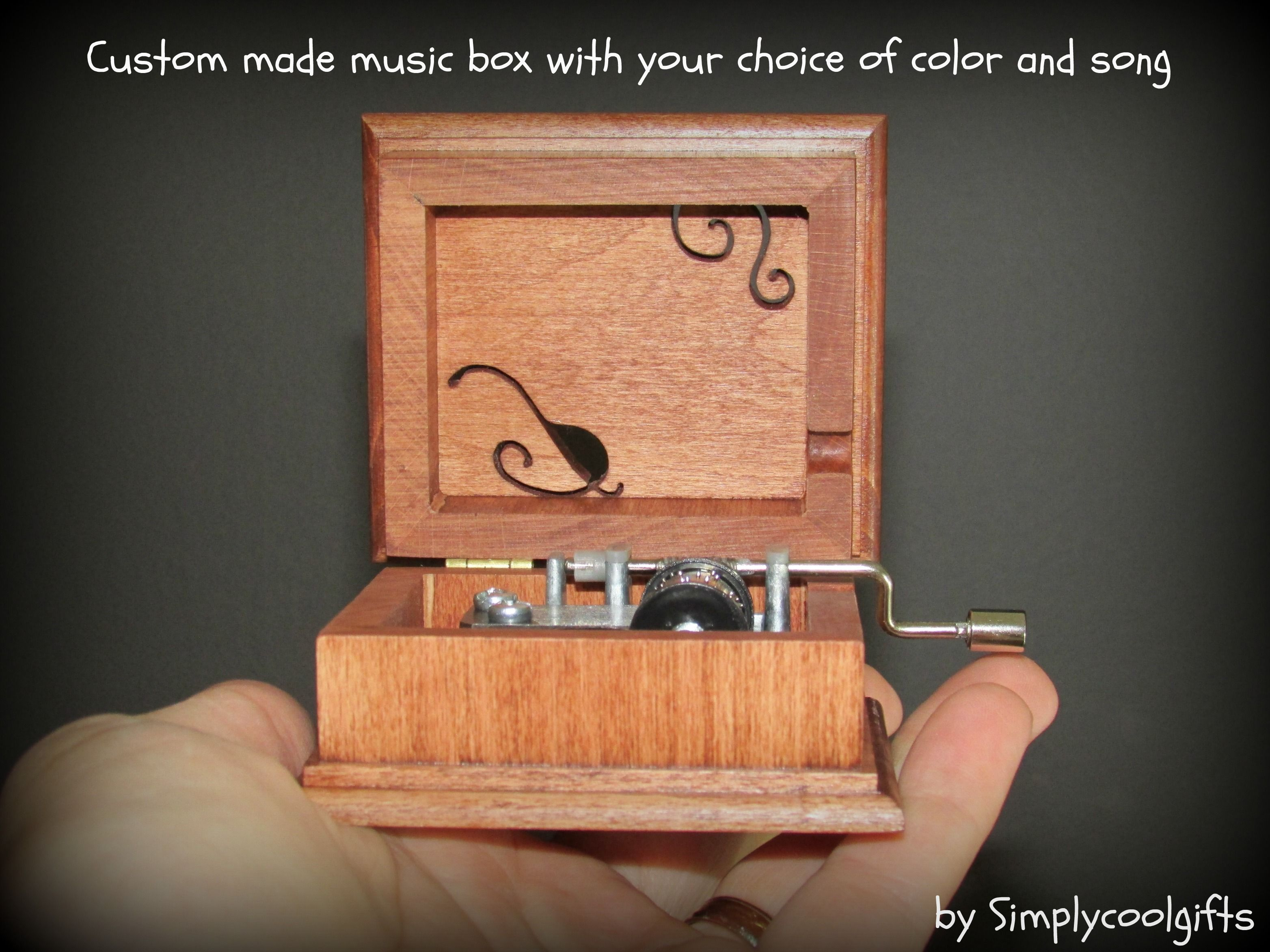 Pin by Music box by Simplycoolgifts on HAND CRANK MUSIC